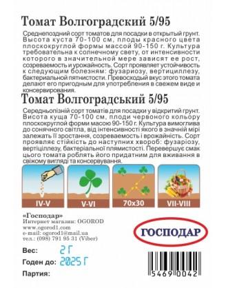 Волгоградский 5/95 (Г)