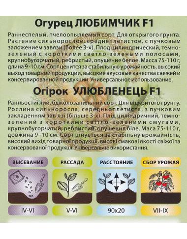 огурцы,семена