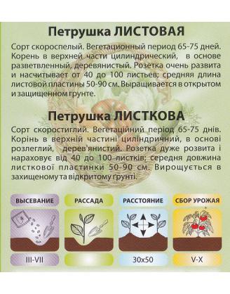 Петрушка Листовая